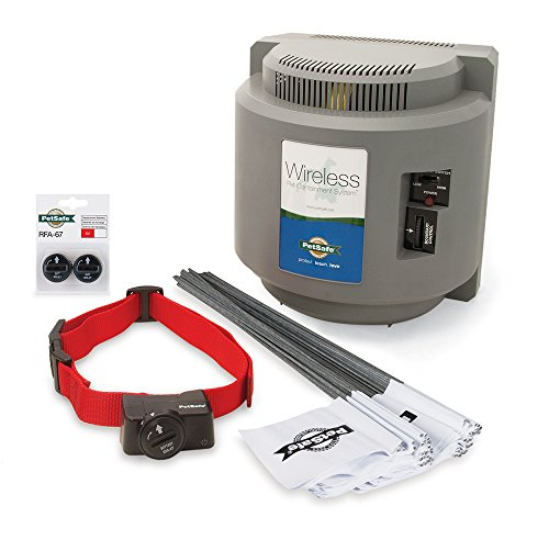- PetSafe Wireless Fence (PIF-300) with Extra Battery Pack