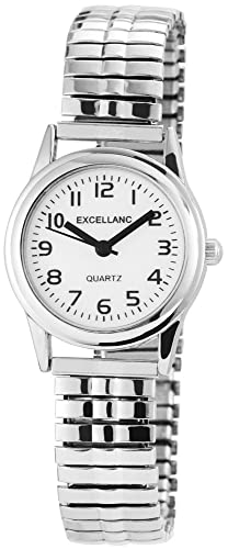 Excellanc Damen-Armbanduhr XS Analog Quarz verschiedene Materialien 170022000014