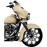 Klock Werks 6-1/2'' Dark Smoke Flare Windshield 2310-0474