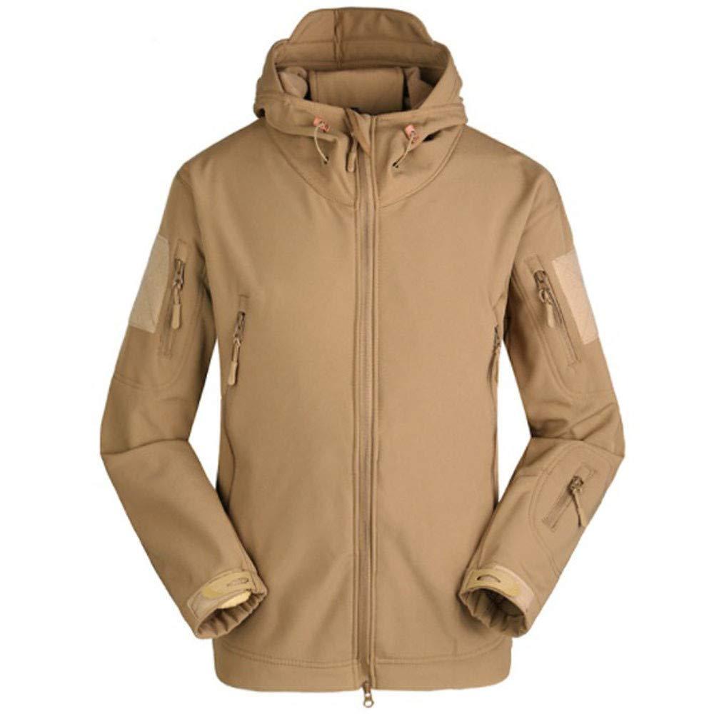 PASATO Men Jacket Coat Jacket Winter Waterproof Soft Shell Jackets Windbreaker Clothes