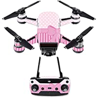 Skin for DJI Spark Mini Drone Combo - Pink Present| MightySkins Protective, Durable, and Unique Vinyl Decal wrap cover | Easy To Apply, Remove, and Change Styles | Made in the USA