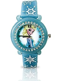 Kids' Frozen Elsa Watch UV Band Changes Colors in the Sun FZN3639