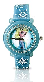 Disney Kids' Frozen Elsa Watch UV Band Changes Colors in the Sun FZN3639