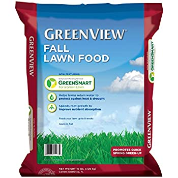 GreenView  Fall Lawn Food, 16 lb. bag  Covers 5000 sq. ft.