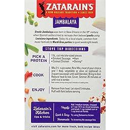 Zatarain\'s Jambalaya Rice Mix, 8 oz (Case of 12)