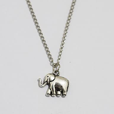 Antique silver elephant necklace bridal necklace birthday gift antique silver elephant necklace bridal necklace birthday gift anniversary gift gift for aloadofball Gallery
