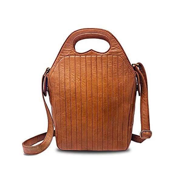 Genuine Leather Women Purse Fits Tablet - Rofozzi Handbags and Purses by Purple Relic