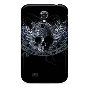 Awesome Design Dark Skull 2 Hard Case Cover For Galaxy S4