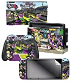"Nintendo Switch Skin & Screen Protector Set – Splatoon 2 ""Vandals Vs Artist"" – Nintendo Switch"