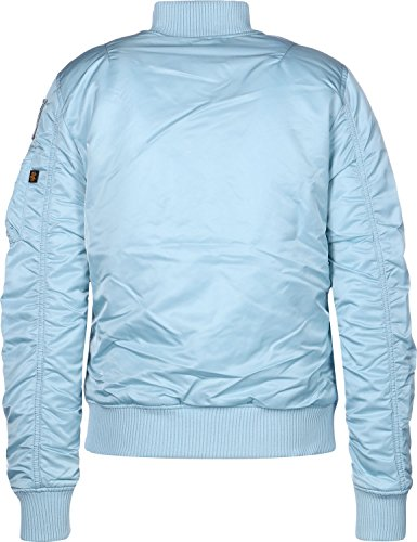 Blue W FV Alpha MA 1 blouson Nasa Air Industries 1B8fxF