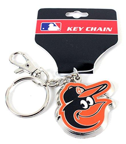 aminco MLB Baltimore Orioles Team Logo Heavyweight Key Ring