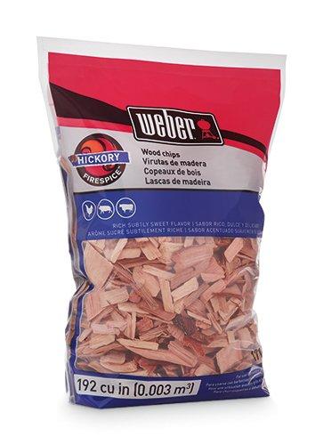 Weber 17053 Hickory Wood Chips, 3-Pound ()