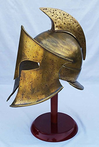 Shiv Shakti Enterprises Medieval Greek Spartan Armor Helmet 300 Rise of Empire Movie Helmet Larp Roman