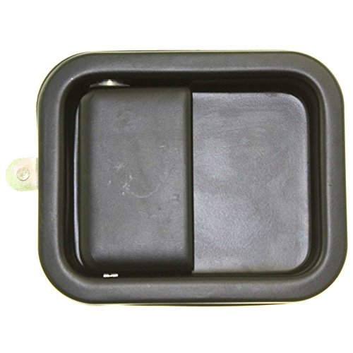- Exterior Door Handle for WRANGLER 97-06 Front RH Outside Smooth Black Full Door Type Metal (Zinc