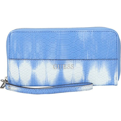 GUESS Doheny Large Zip Around Wallet (Ocean)