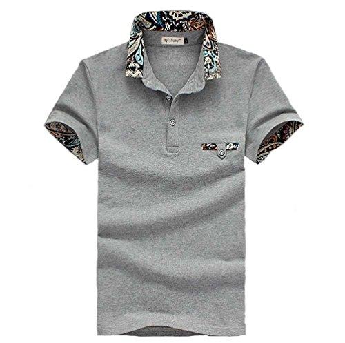 (メイク トゥ ビー) Make 2 Be メンズ カジュアル 花柄 ポロシャツ ゴルフ KB16