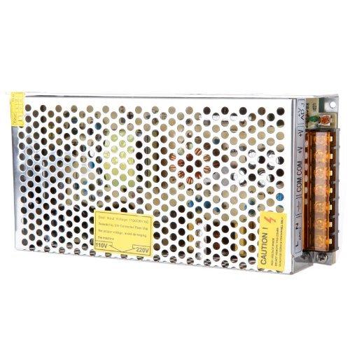 TOOGOO(R) Interruptor de Transformador de Tension CA 110V/220V a CC12V 10A 120W para Tira LED