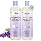Babo Botanicals Calming Baby Bubble Bath and Wash Enriched with Organic Ingredients & EWG Verified, 2 Pack -16oz pack