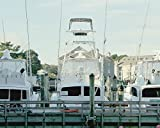 Virginia Beach Photo, Rudee Inlet Fishing Boats at the Doclk Pier Picture, Coastal Wall Art Decor, Gift for Men, Photo Print from 5x7 to 24x30