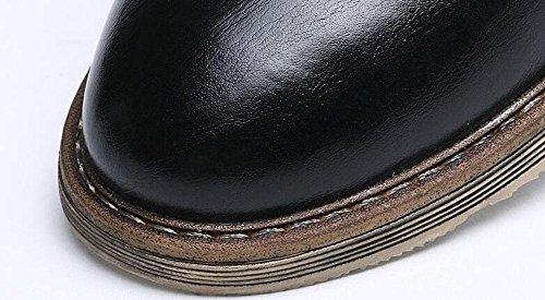 SHIXR Les chaussures de sport pour hommes portent la bouche superficielle avec des chaussures d'escalade , black , 38