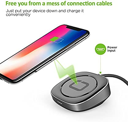 Omars Wireless Charger 5W / 7 5W / 15W, Fast Charging Pad