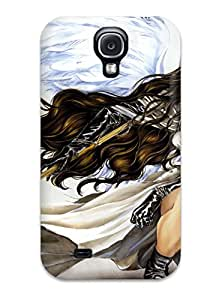 For Galaxy S4 Premium Tpu Case Cover Angel Sanctuary Protective Case