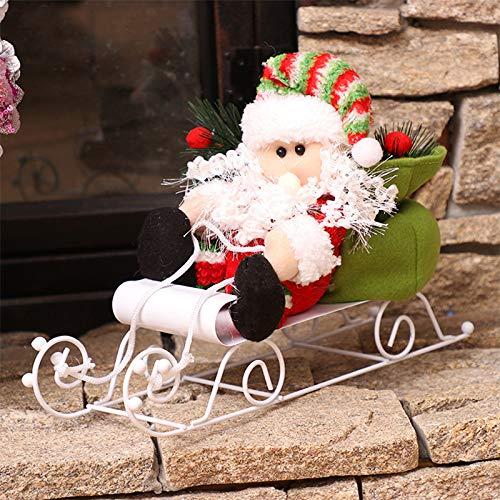 Demarkt 1pcs Ornements Bonhomme de Neige de No/ël Peut /être utilis/é pour Les d/écorations de No/ël Id/éal pour Les Cadeaux de No/ël
