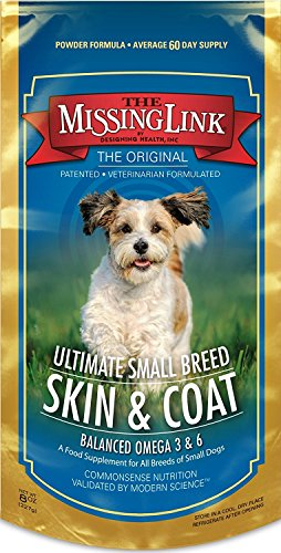 The Missing Link Ultimate Small Breed Skin & Coat for Dogs, 8-Ounce