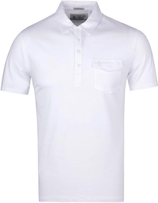 Original Penguin Jack 2.0, Polo para Hombre, Blanco (Bright White ...