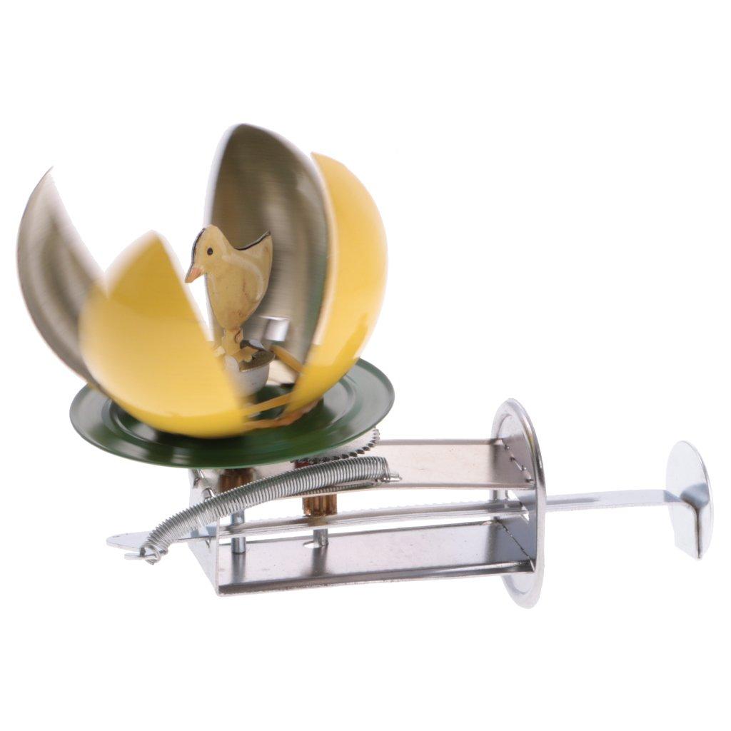 Gazechimp Blechtier Blechspielzeug Tiere aus Zinn Wind-up Spielzeug Sammler Geschenk für Kinder Baby - Osterei, Ca. 12 * 6 * 7.5cm / 4.72 * 2.36 * 2.95inch