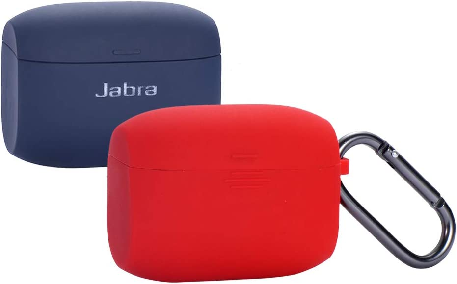 Amazon Com Jabra Elite Active 65t Silicone Case Esimen Protective Skin Cover For Jabra Elite 65 Wireless Sports Earbuds Red