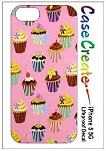 New Style Cupcakes Decorative Sticker Decal for your iPhone 5 Lifeproof Case wangjiang maoyi