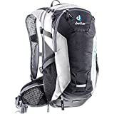 Deuter 3200215 7410 Black/White Compact EXP 12 Backpack - Perfect for Hiking, Biking, Hunting, Off-Road and Motorcycling
