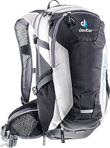 (Deuter 3200215 7410 Black/White Compact EXP 12 Backpack - Perfect for Hiking, Biking, Hunting, Off-road and Motorcycling)
