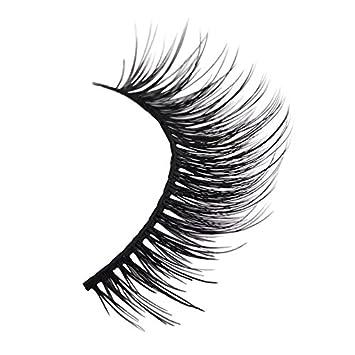 baf7a7f5027 Amazon.com : New 3 Pairs Natural False Eyelashes Fake Lashes Long Makeup 3D  Mink Lashes Extension Eyelash Mink Eyelashes For Beauty #X11 : Beauty