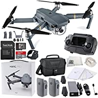 DJI Mavic Pro Collapsible Quadcopter Travel Bag Essential Bundle