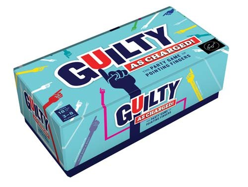 Chronicle Books Guilty as Charged!: The Party Game of Pointing Fingers