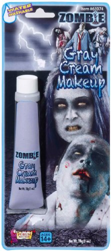 Zombie Costumes For Adults (Rubie's Costume Zombie Grey Tube Makeup)