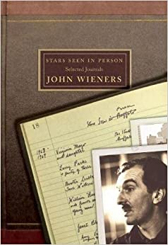 Book Stars Seen in Person: Selected Journals of John Wieners