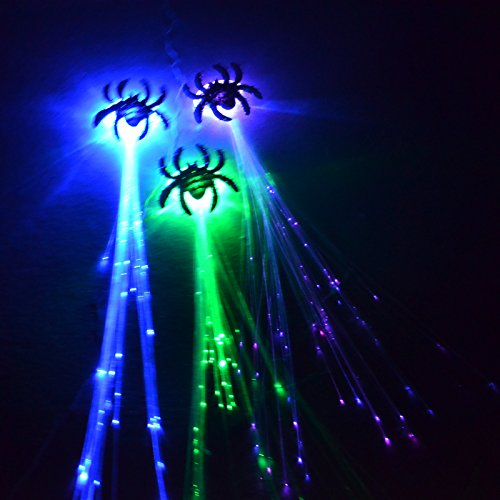 Halloween Decorations Using Fiber Optics