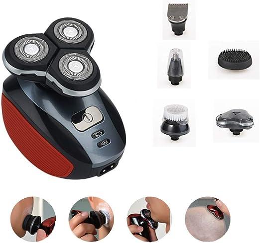 Máquina de afeitar giratoria eléctrica Máquina de afeitar de ...