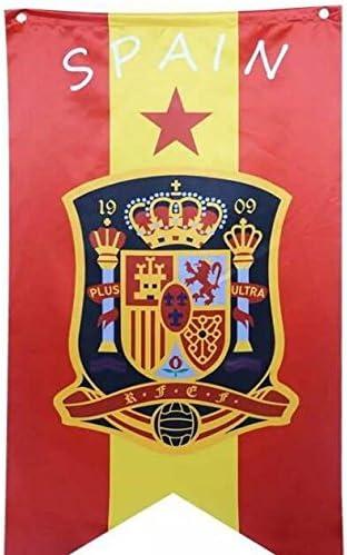 Milpo Copa Mundial de la FIFA 2018 Bandera de la Bandera de España ...
