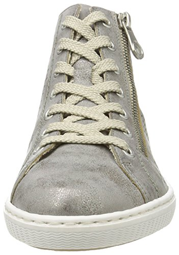 L0936 Sneakers EU Hautes Gris 42 Rieker Femme dBzqCxwd5