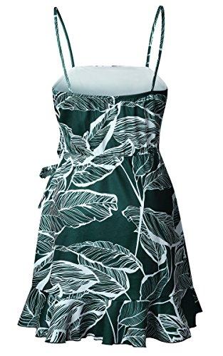 Senza ECOWISH Donna maniche Vestito Verde TwP5q6x