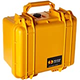 Pelican 1300 Camera Case With Foam (Yellow)