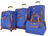 Steve Madden Designer Luggage Collection - 4 Piece