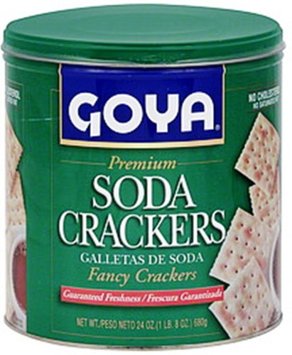 Goya Foods Soda Crackers, 24-Ounce Dot Foods Inc. (Special Order)