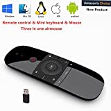 57B Remote Control with Keyboard 2.4Ghz Wireless Motion Smart TV Remote Controller Android TV Box Mini Keyboard for Android TV Boxes