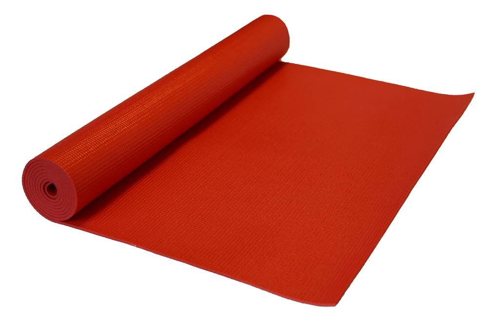 j/fit 72 in. Pilates Mat in Red