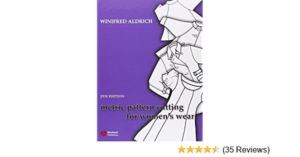 Metric pattern cutting for womens wear winifred aldrich metric pattern cutting for womens wear winifred aldrich 9781405175678 amazon books fandeluxe Image collections
